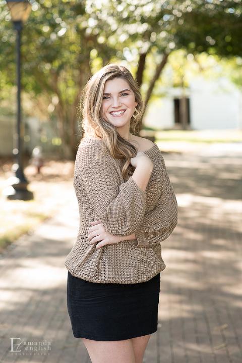 Cary Senior Portraits   Amanda English Photography