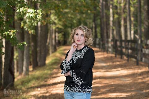 Apex Senior Photographer | Amanda English Photography